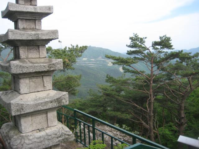 atop Mt. Palgongsan