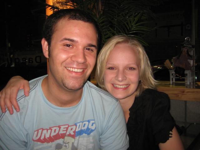 Seth & Anna at Ben's birthday party