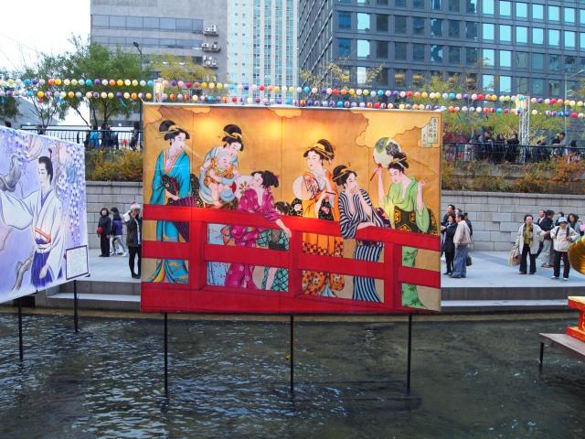 Cheonggye-cheon Stream Lantern festival